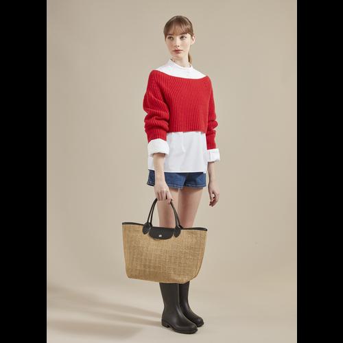 Le Pliage-Kollektion Handtasche M, Naturel
