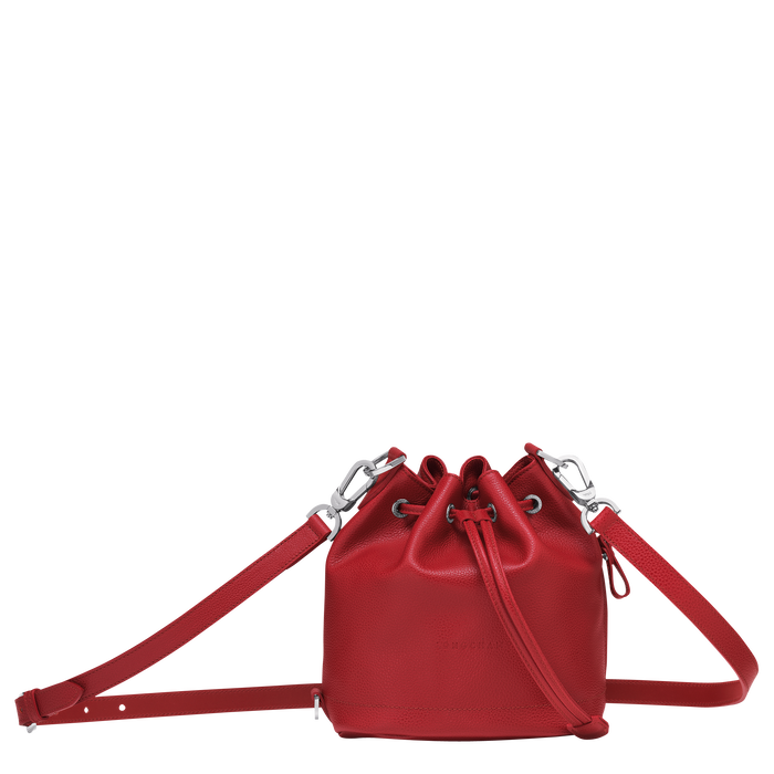 Bucket bag S Le Foulonné Red (10061021545) | Longchamp US
