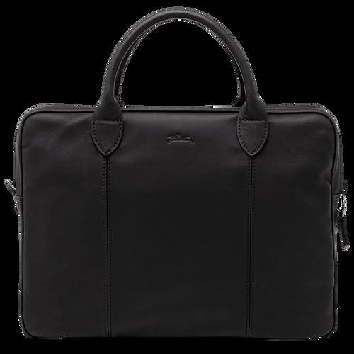Briefcase, Black/Ebony - View 3 of 3 -