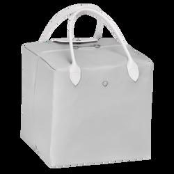 Handtasche M, E61 Grau/Weiss, hi-res