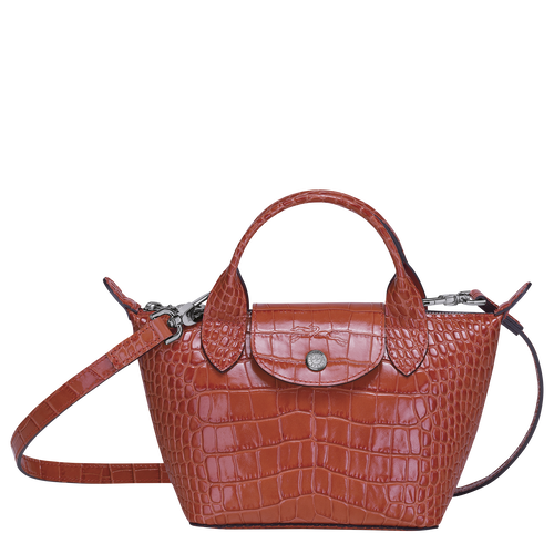 Top handle bag XS, Coral - View 1 of 3 -