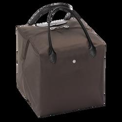 Handtasche M, E56 Taupe/Schwarz, hi-res