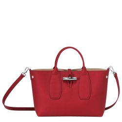 Top handle bag M, Red, hi-res