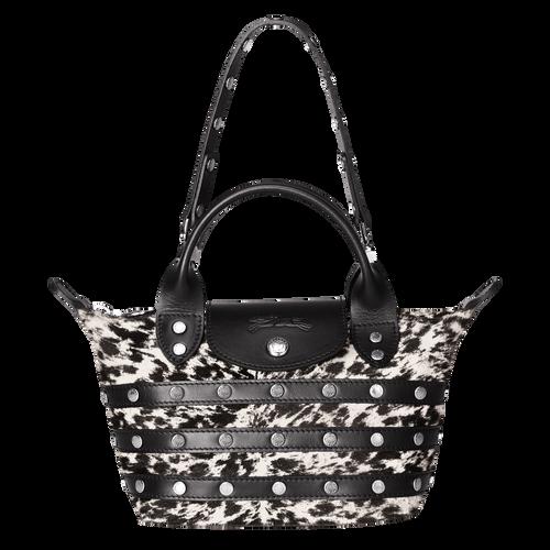 View 1 of Mini-Handbag, Black/White, hi-res