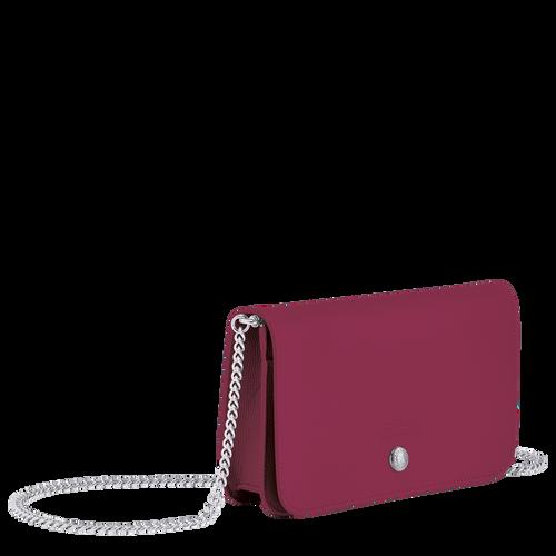 Le Pliage Néo Wallet on chain, Raspberry