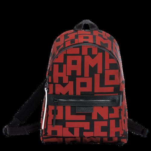 Backpack M, C09 Black/Brick, hi-res