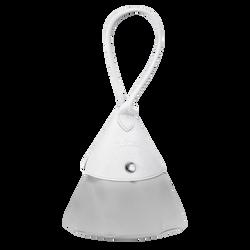Top-handle bag S, E61 Grey/White, hi-res