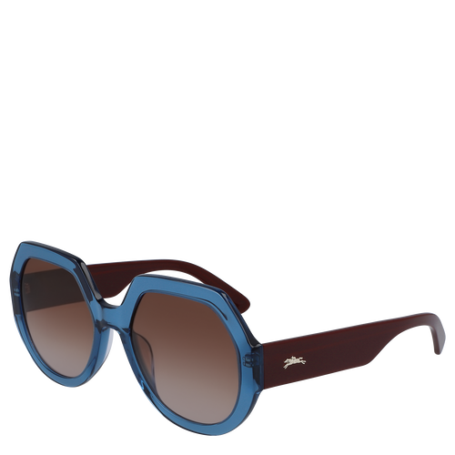 Sunglasses, Blue - View 3 of 3.0 -