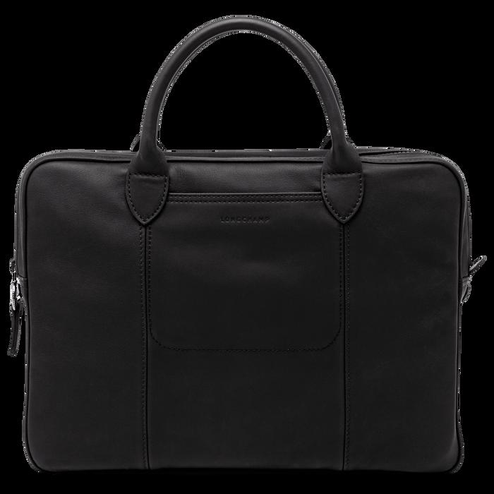 Briefcase, Black/Ebony - View 1 of 3 - zoom in