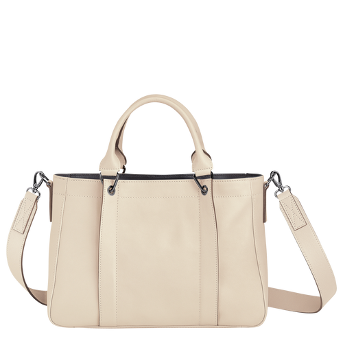 Top handle bag S, Ivory - View 3 of  3 -