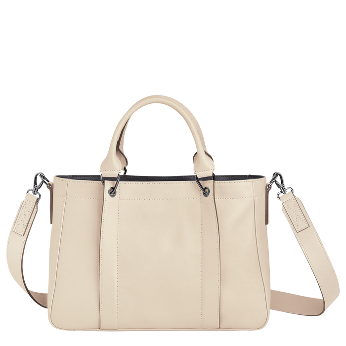 Top handle bag S, Ivory - View 3 of 3 - zoom in