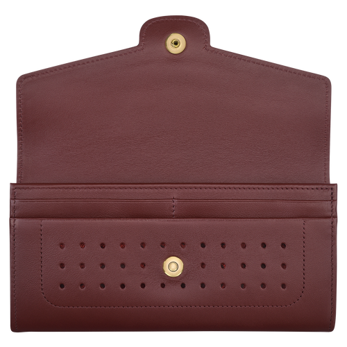 Long continental wallet, Burgundy - View 2 of 2.0 -