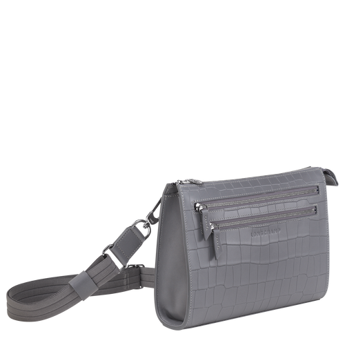 View 2 of Cross body bag, Grey, hi-res