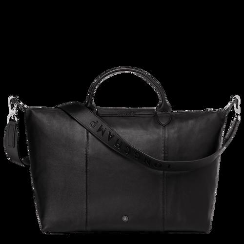Handtasche L, Schwarz - Ansicht 3 von 10.0 -