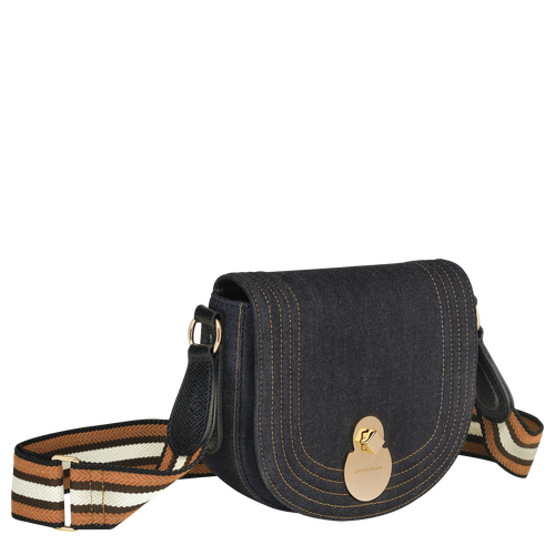 Crossbody bag, Denim - View 2 of  3 -