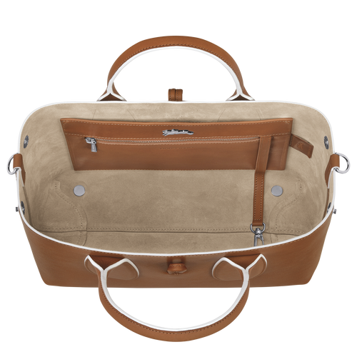 Top handle bag M, Cognac - View 5 of 5 -