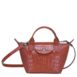 Top handle bag XS, Coral