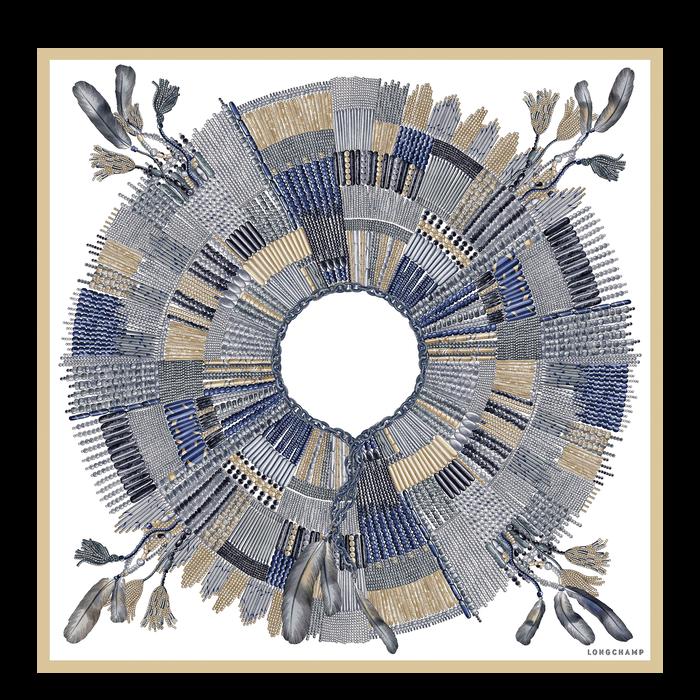 Zijden sjaal, Nordic, hi-res - View 1 of 1