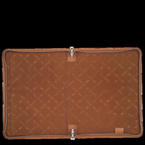 """Le Foulonné Laptop case 15"""", Caramel"""