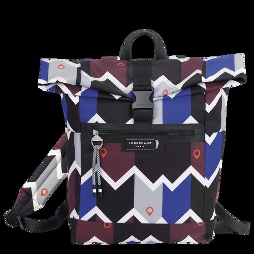 Backpack, Mahogany/Blue - View 1 of  4 -
