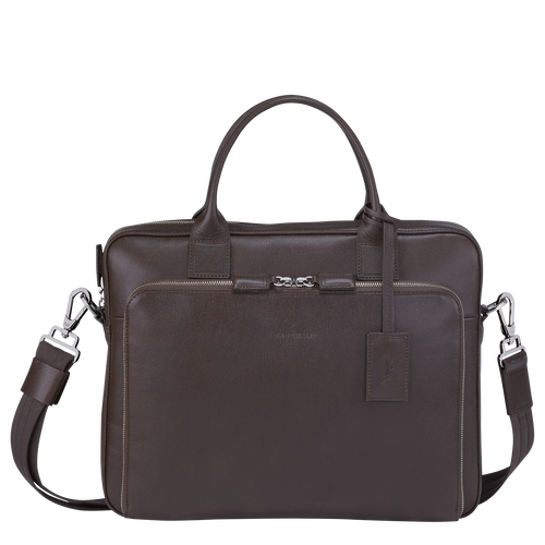 Briefcase S, Mocha - View 1 of  3 -