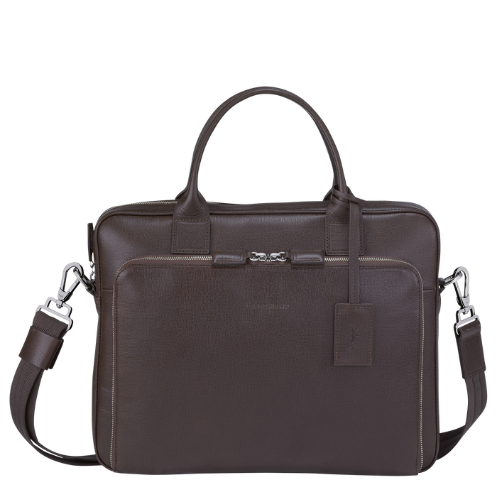 Briefcase S, Mocha - View 1 of  3 - zoom in