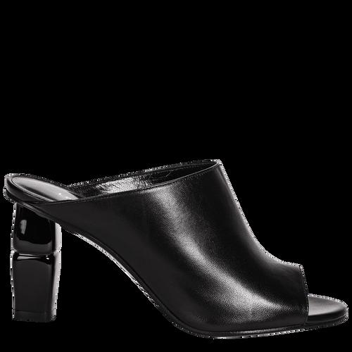 High-heel mules, Black, hi-res - View 1 of 2
