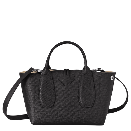 Roseau Top handle bag S, Black