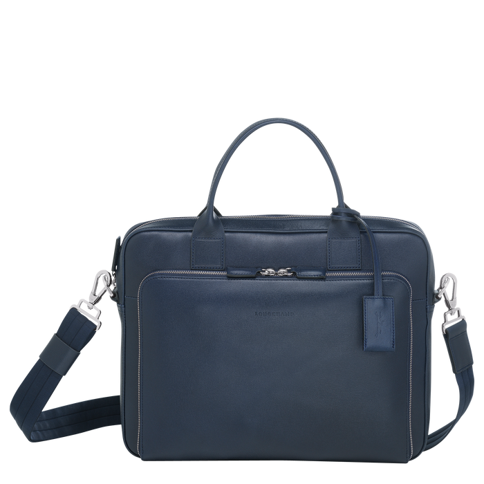 Briefcase S, Navy - View 1 of  3 - zoom in