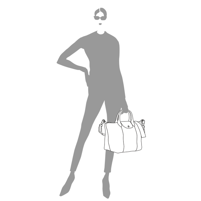 Handtasche M, Grau - Ansicht 4 von 5 - Zoom vergrößern