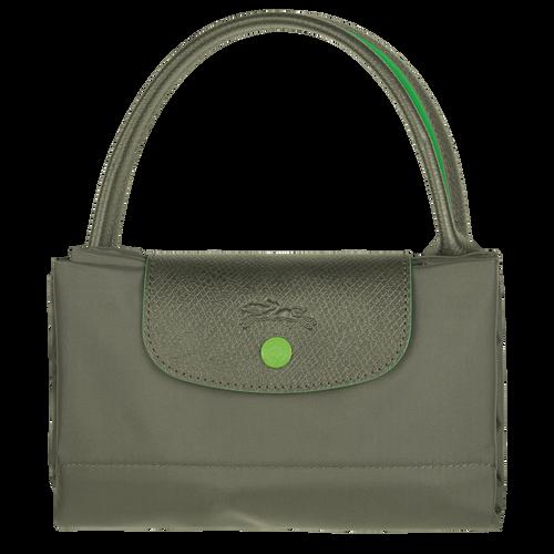 Sac porté main M, Vert Longchamp - Vue 4 de 5 -