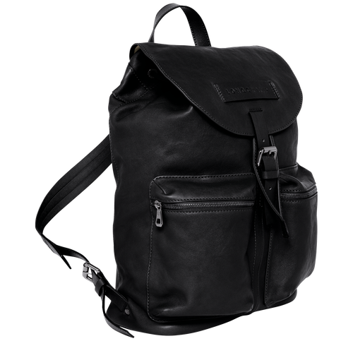 Backpack L, Black/Ebony - View 2 of  3 -