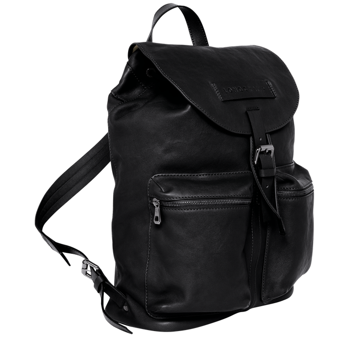 Backpack L, Black/Ebony - View 2 of  3 - zoom in