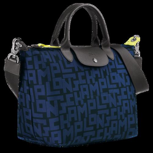 Top handle bag M, Black/Navy - View 2 of 4 -