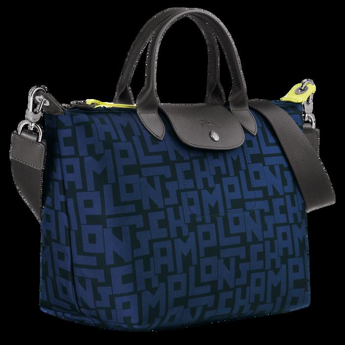 Top handle bag M, Black/Navy - View 2 of 4 - zoom in