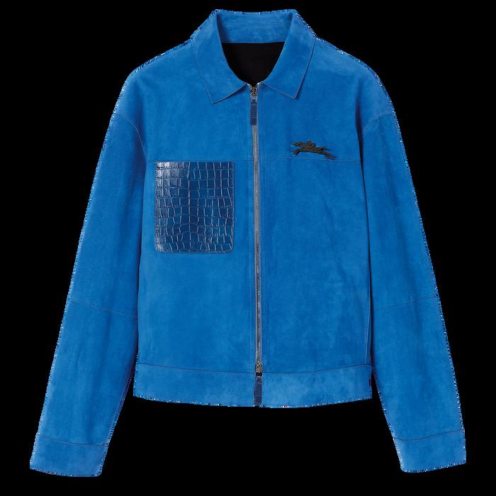 Jacke, Blau - Ansicht 2 von 2 - Zoom vergrößern