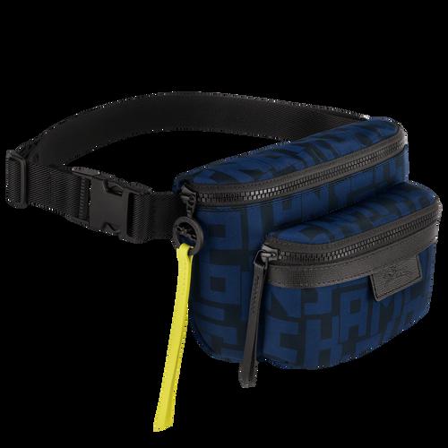 Belt bag M, Black/Navy - View 2 of 3 -