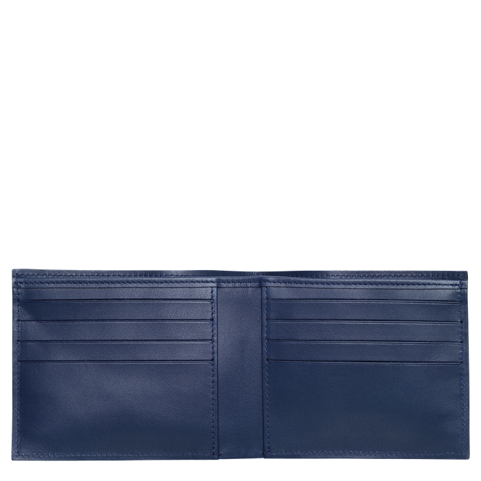 Croco Block 錢包, 海軍藍色