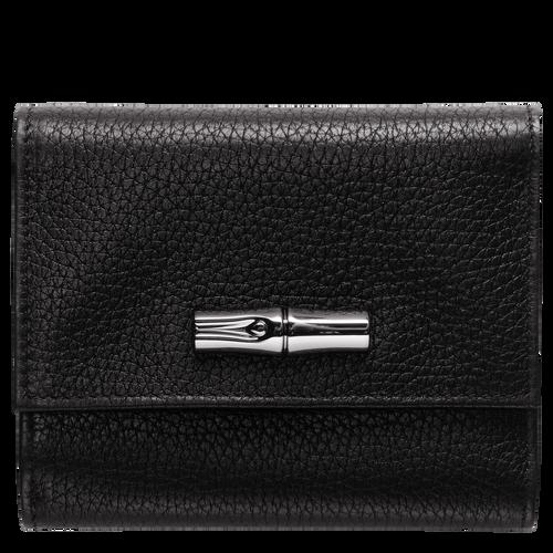 Portefeuille compact Roseau Noir (30000968001) | Longchamp CA
