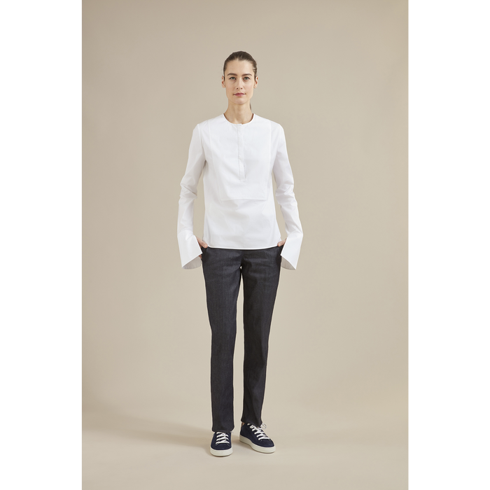 Fall-Winter 2021 Collection Blouse, White