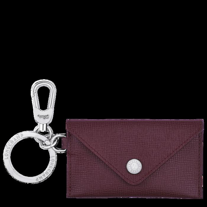 Le Pliage Néo Envelope key ring, Grape