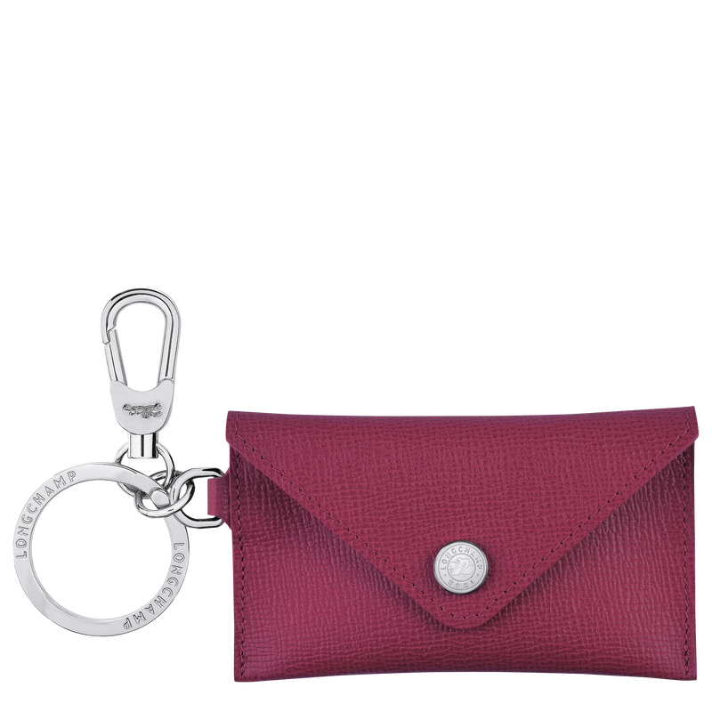 Le Pliage Néo Envelope key ring, Raspberry