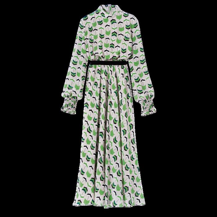 Robe longue, Ecaille Verte - Vue 1 de 1 - agrandir le zoom