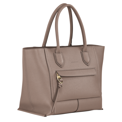 Top handle bag L, Taupe - View 2 of 4 -
