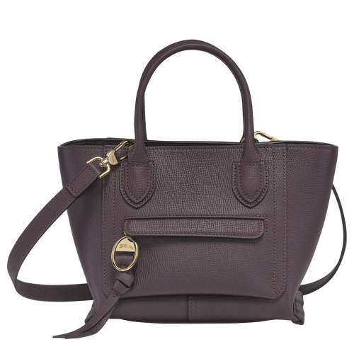 Top handle bag S, Aubergine - View 1 of  3 -