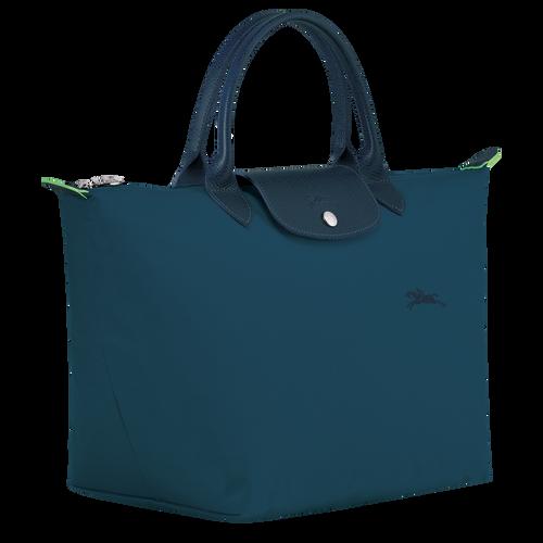 Le Pliage Green Tas met handgreep aan de bovenkant M, Oceaanblauw