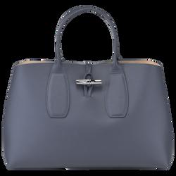 Top handle bag L, Pilot blue, hi-res