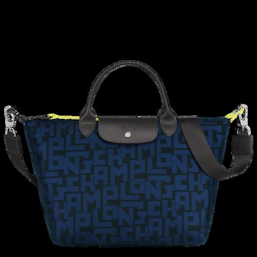 Top handle bag M, Black/Navy - View 1 of 4 -