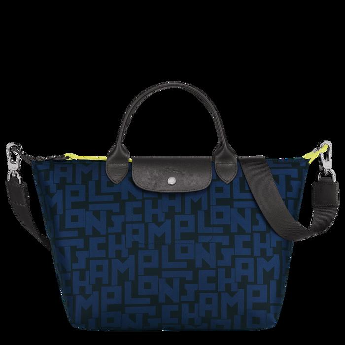 Top handle bag M, Black/Navy - View 1 of 4 - zoom in