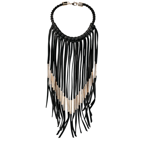 Necklace, 001 Black, hi-res